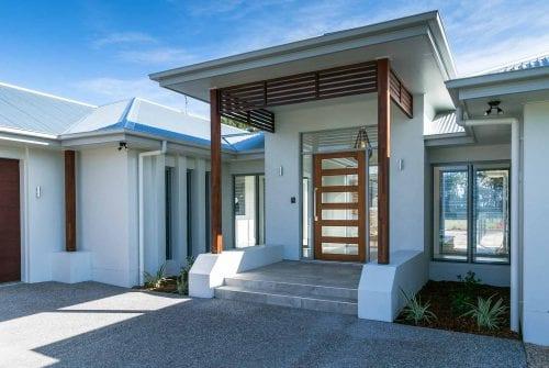 Stunning front entrance way Custom built home Hervey Bay - Steve Bagnall Homes