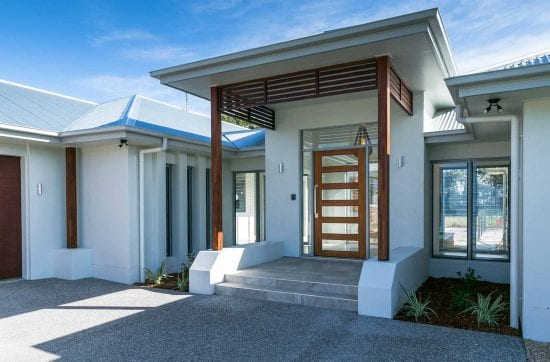 Stunning front entrance way Custom built home Hervey Bay - Steve Bagnall Homes