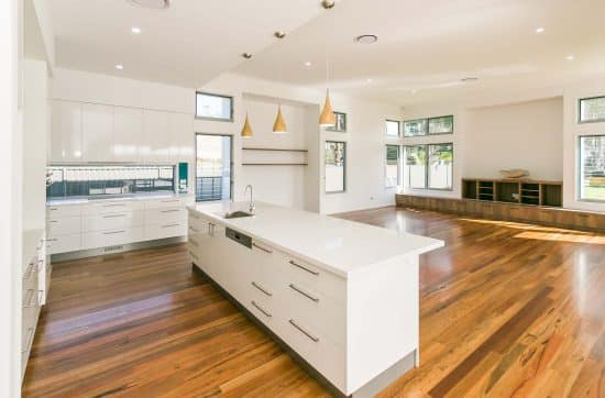 beautiful hardwood floors - Custom built home Hervey Bay - Steve Bagnall Homes