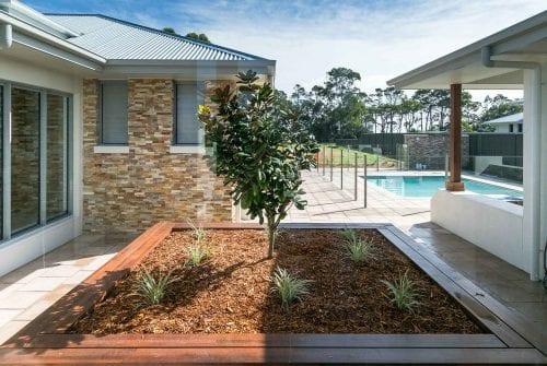 beautiful outdoor area - Custom built home Hervey Bay - Steve Bagnall Homes