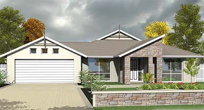 3d render - endeavour home plan Hervey Bay - Steve Bagnall Homes