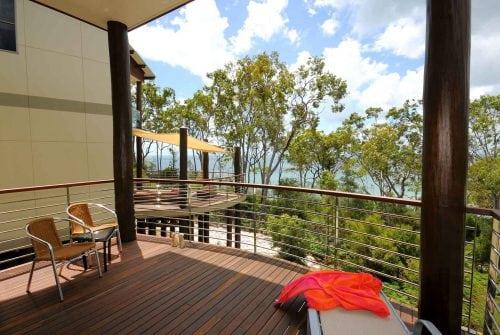 Deck overlooking ocean - Custom built home Hervey Bay - Steve Bagnall Homes