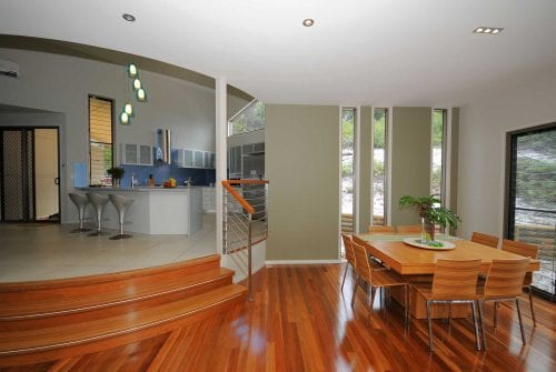 dining area in Custom built home Hervey Bay - Steve Bagnall Homes