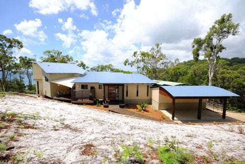 Front of house- Custom built home Hervey Bay - Steve Bagnall Homes