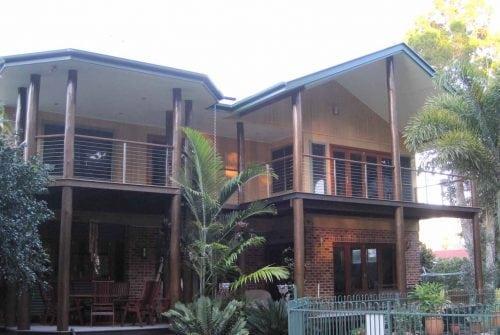 balcony at back of house - Custom built home Hervey Bay - Steve Bagnall Homes
