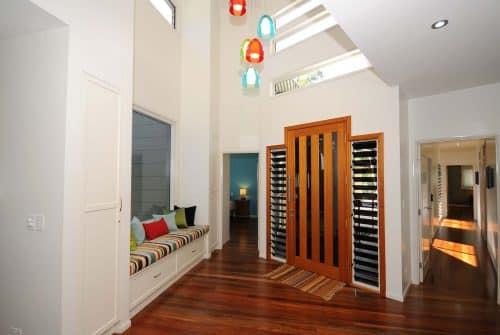 inside entrance front door Custom built home Hervey Bay - Steve Bagnall Homes