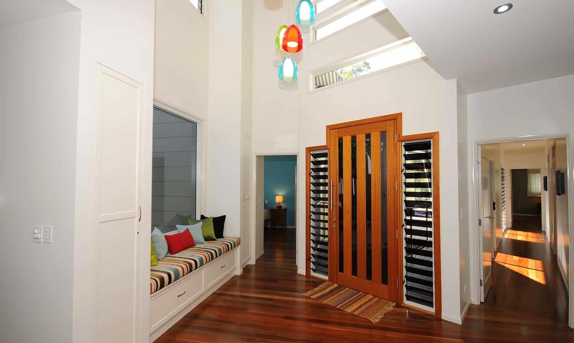 Inside entrance - standard home plans - Home design Hervey Bay