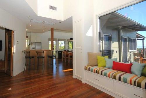 inside entrance Custom built home Hervey Bay - Steve Bagnall Homes