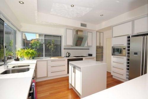 stunning modern kitchen in Custom built home Hervey Bay - Steve Bagnall Homes