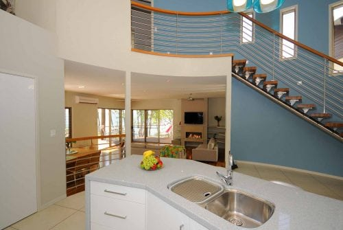 Kitchen & dining room in Custom built home Hervey Bay - Steve Bagnall Homes