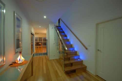 stairs in Custom built home Hervey Bay - Steve Bagnall Homes