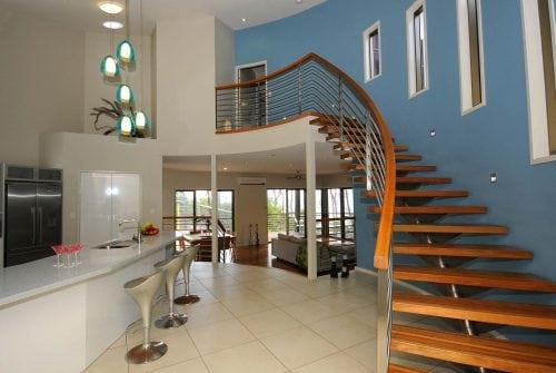 stairwell in Custom built home Hervey Bay - Steve Bagnall Homes