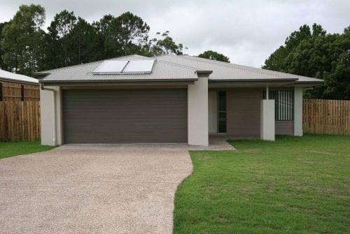 front of Custom built home Hervey Bay - Steve Bagnall Homes