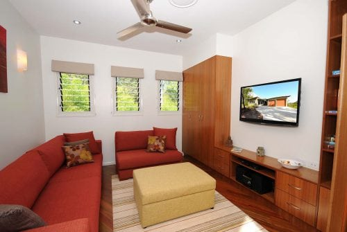 lounge room decorated - Custom built home Hervey Bay - Steve Bagnall Homes